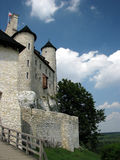 Restored medieval castle of Bobolice near Czestochowa. Stock Photo