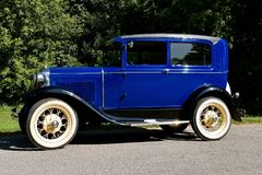 Restored 1931 Model T Ford Royalty Free Stock Image