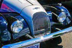 Restored Morgan. On display at a Gig Harbor, Washington car show.   22 May, 2010 Royalty Free Stock Photos