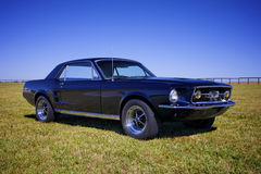 Restored Mustang '67 Royalty Free Stock Photo