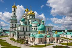 Restored Novo-Jerusalem Monastery Istra Russia Stock Photography