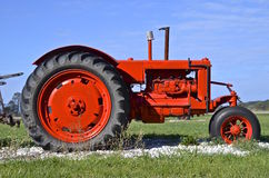 Restored old antique tractor Royalty Free Stock Photography