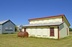 Restored old chicken house Stock Photography