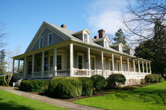 Restored old house. Royalty Free Stock Images
