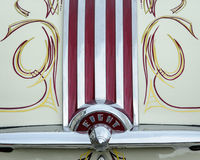 Restored 1950 Pontiac Chiefton with custom pinstripes Stock Image