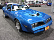 Restored Pontiac Trans Am Royalty Free Stock Photo