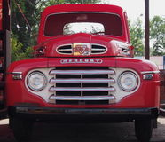 Restored Red Mercury Truck Royalty Free Stock Images