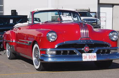 Restored Red Pontiac Convertible Stock Image