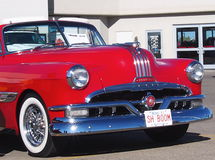 Restored Red Pontiac Convertible Royalty Free Stock Photos