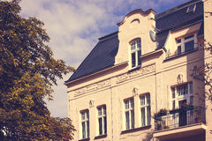 Restored Residential House in Berlin Stock Images