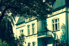 Restored Residential House in Berlin Royalty Free Stock Photography