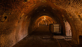 Restored ring oven of a brickyard Stock Images
