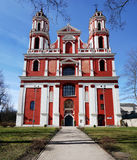 The restored  Saint Jacob  church Royalty Free Stock Images