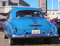 Restored Silver Streak Classic Pontiac Stock Photography