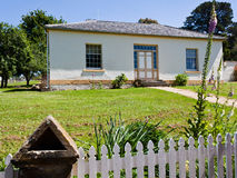 Restored staff house at Port Arthur. Tasmania, former penal colony Royalty Free Stock Photos