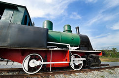 Restored steam train locomotive Royalty Free Stock Photography