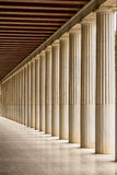 Restored Stoa of Attalos, Athens, Greece Royalty Free Stock Images