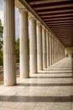 Restored Stoa of Attalos, Athens, Greece Royalty Free Stock Photos