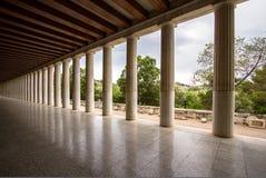 Restored Stoa of Attalos, Athens, Greece Stock Photography