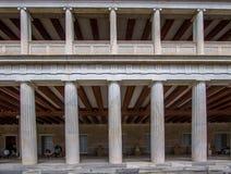 Restored Stoa of Attalos, Athens, Greece Royalty Free Stock Photography