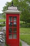 Restored Telephone Kiosk Royalty Free Stock Photos