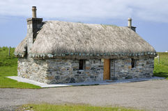 Restored Thatched Croft House Royalty Free Stock Images