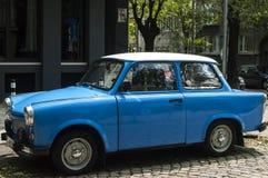 Restored vintage Trabant car Royalty Free Stock Images