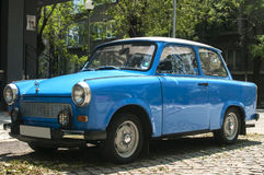 Restored vintage Trabant car Royalty Free Stock Photos