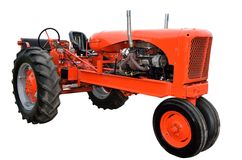 Restored vintage tractor Royalty Free Stock Photos