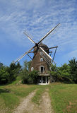 Restored windmill, now a house Royalty Free Stock Photography