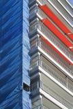 Restoring of an apartment block Stock Photos
