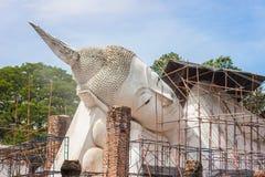 Restoring big buddha Stock Photos