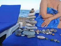 Restoring inner peace Stock Photo