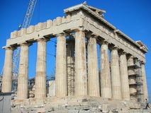 Restoring the Parthenon Stock Photos