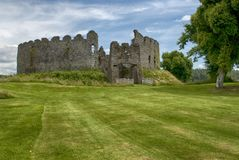 Restormel Castle near Lostwithiel Cornwall royalty free stock photography