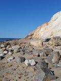 Restos da praia Fotos de Stock Royalty Free