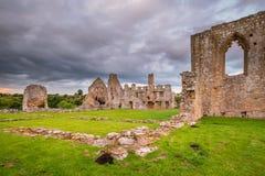 Restos de la abadía de Egglestone Fotografía de archivo libre de regalías