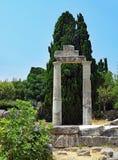 Restos de la ciudad antigua de Kos en Grecia Imágenes de archivo libres de regalías