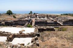 Restos de la civilización romana Imágenes de archivo libres de regalías
