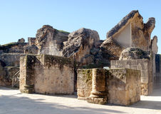 Restos de la civilización romana Imagen de archivo