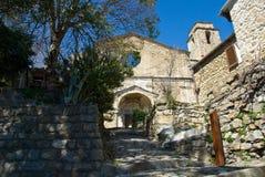 Restos de la iglesia italiana vieja imagen de archivo libre de regalías