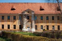 Restos del castillo de Radziwill Fotografía de archivo
