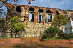 Restos del gran palacio imagen de archivo