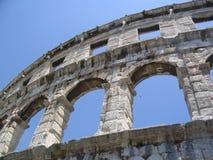 Restos del imperio romano Foto de archivo libre de regalías