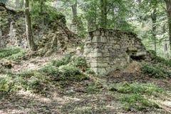 Restos del molino Imagenes de archivo
