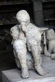Restos en Pompeya imagenes de archivo