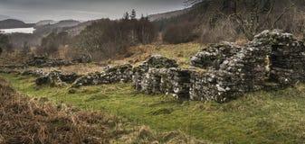 Restos que frecuentan del municipio de Arichonan en Escocia Fotos de archivo libres de regalías