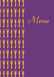 Restourant menu Royalty Free Stock Images