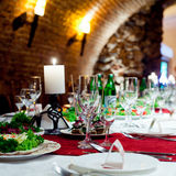 Restourant's table Royalty Free Stock Images