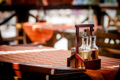 Restourant tables Royalty Free Stock Photo